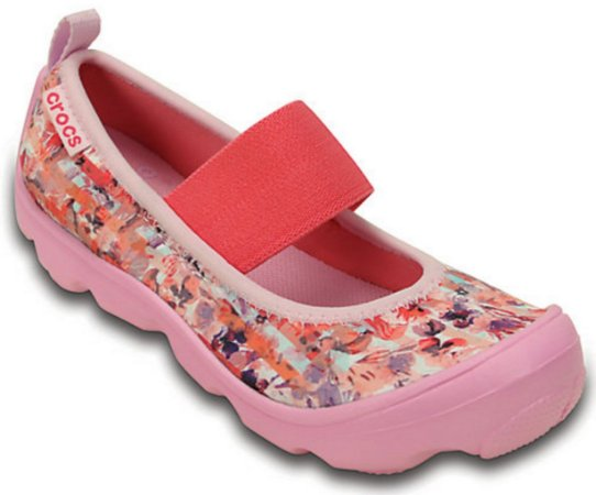 DUET BUSY DAY FLORAL SHOE 203144 - CARNATION