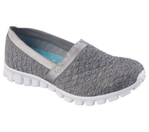 WOMENS SKECHERS EZ FLEX 2 BANKROLL 22665 - GRAY