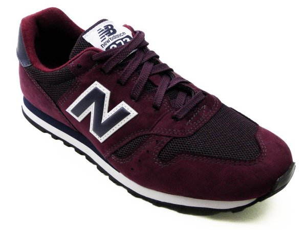 TENIS NEW BALANCE M373 - BB - BORDO/BRANCO
