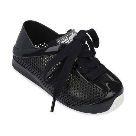 MINI MELISSA LOVE SYSTEM 31781MG - BRANCO/PRETO