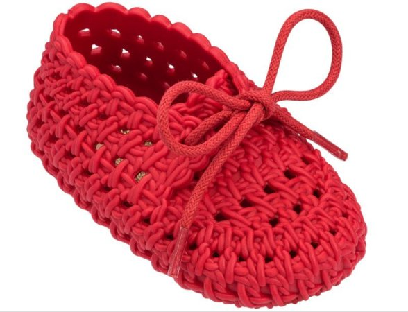 MINI MELISSA MY FIRST TRICOT - 32330 - VERMELHO GALAPAGOS