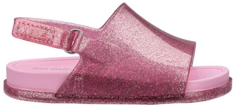 Mini Melissa Beach Slide Sandal - Lilás / Rosa