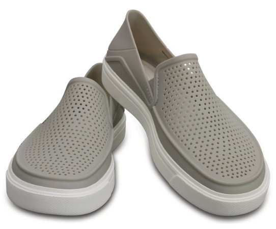 Crocs Citilane Roka Slip-on - Pearl White - Feminino