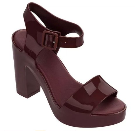 MELISSA MAR HELL AD 31951 - BORDO CASSIS