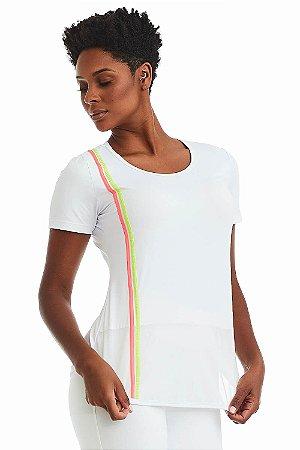 T-Shirt Cajubrasil Good Vibes Branco