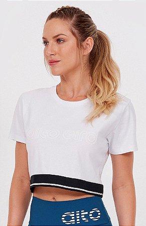 T-shirt Alto Giro Cropped Ceramic
