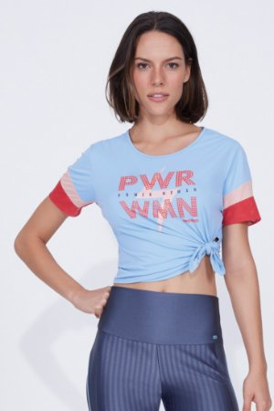 T-shirt Alto Giro skit fit power woman