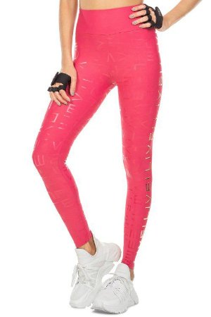 Calça Legging LIVE! Icon Lux Rose
