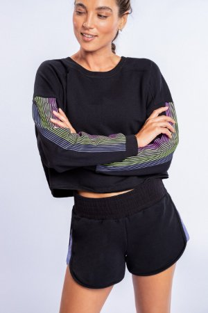 Sweatshirt LIVE! Colors Movement Preto