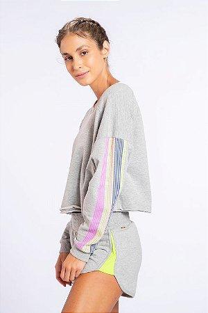 Sweatshirt LIVE! Colors Movement Granite
