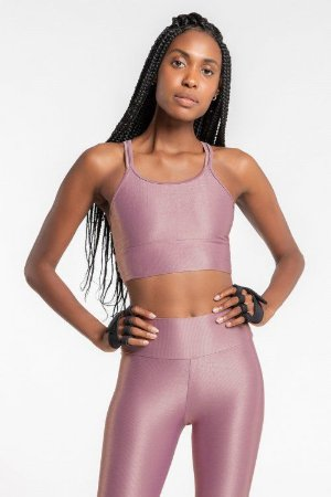 Top LIVE! Strappy Essential Ametista