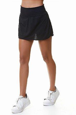 Saia Shorts Tenista BRO Preto