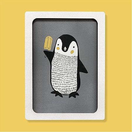 Quadro - Pinguim