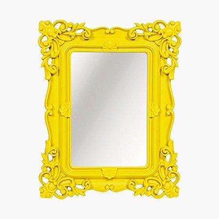 Espelho Decorativo Amarelo