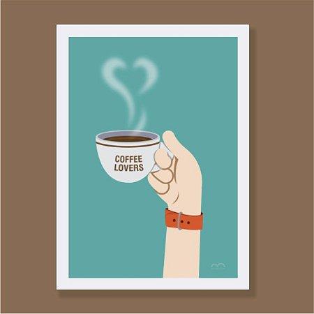 Quadro - Coffee Lovers
