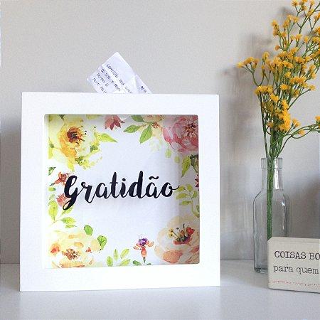 Quadro Porta- Bilhetes Gratidão