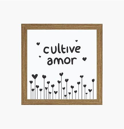 Quadro Luminoso sem Fio - Cultive Amor