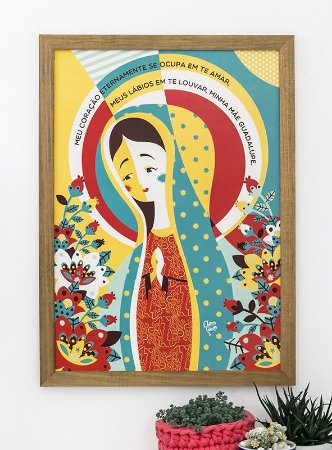 Quadro Nossa Senhora de Guadalupe