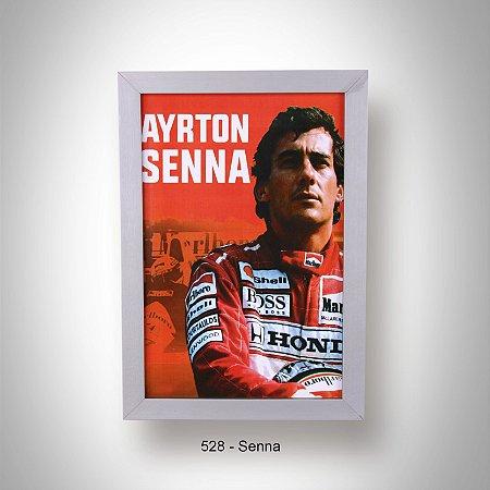 Quadro 20x30 Ayrton Senna