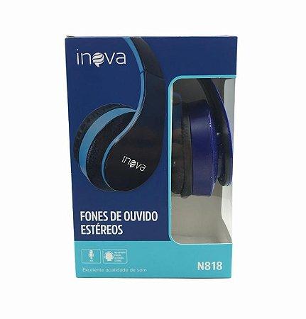 FONE DE OUVIDO COM MICROFONE INOVA N818