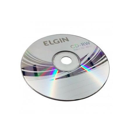 CD-RW ELGIN 700MB BULK 25 REGRAVAVEL
