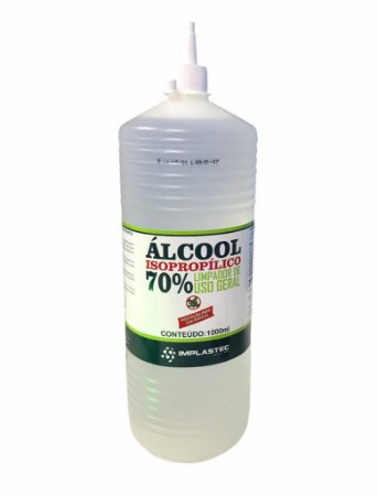 ALCOOL ISOPROPILICO 70% 1000ML IMPLASTEC