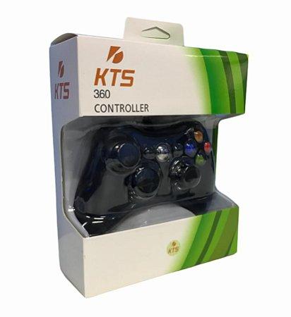 CONTROLE DE XBOX 360 COM FIO 2.5M KTS-360H