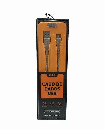CABOS DE DADOS USB V8 BASIKE BA-CBO0054