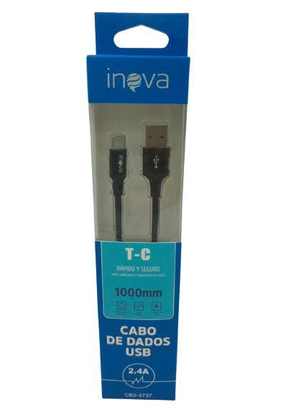 CABO DE DADOS USP TYPE-C 1M INOVA 2.A CBO-5737