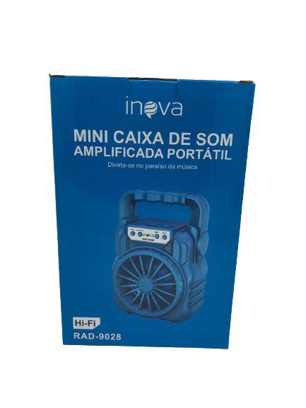 MINI CAIXA DE SOM INOVA RAD-9028