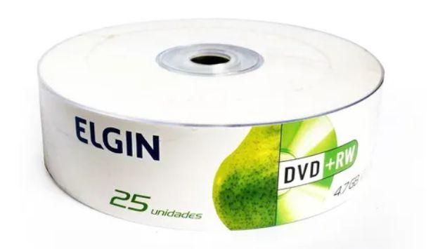 DVD+RW ELGIN BULK 25