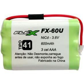 BATERIA TEL SEM FIO FX 60U