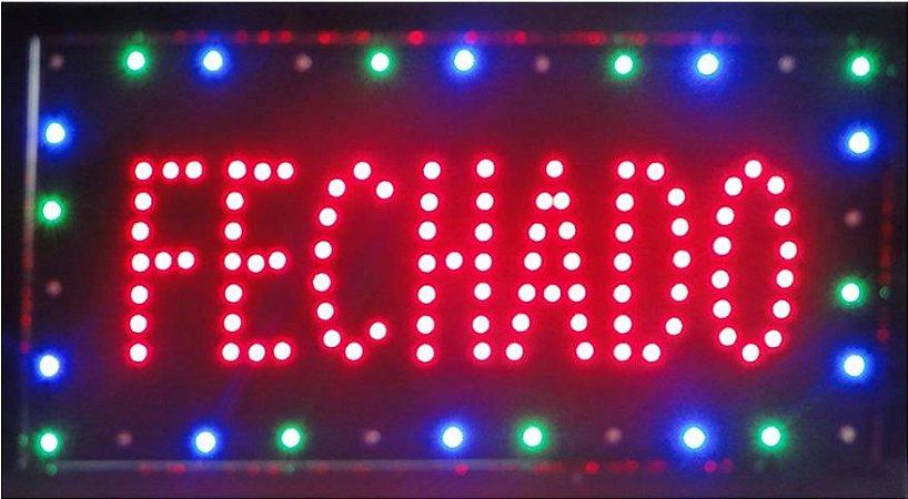 PLACA DE LED FECHADO 25X50 OEM
