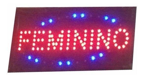 PLACA DE LED FEMININO 127V 25X50 OEM