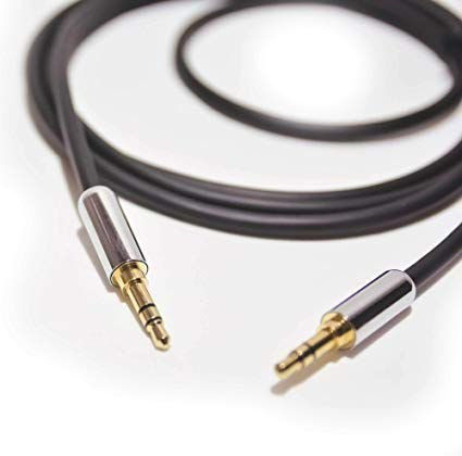 CABO DE AUDIO SLIM P2 MACHO PARA P2 MACHO, OD:4MM, BRANCO, 1.2M