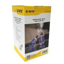 UMIDIFICADOR DE AR COM LUZ DE LED B-MAX BM001