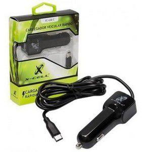 CARREGADOR VEICULAR MARCA X-CELL MOD: XC-USB-C 2.8A