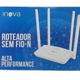 ROTEADOR 300 Mbps 4 ANTENAS INOVA ROU-6011