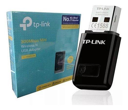 ROTEADOR RECEPTOR ADAPTADOR USB WIRELESS TP-LINK TP-WN823N
