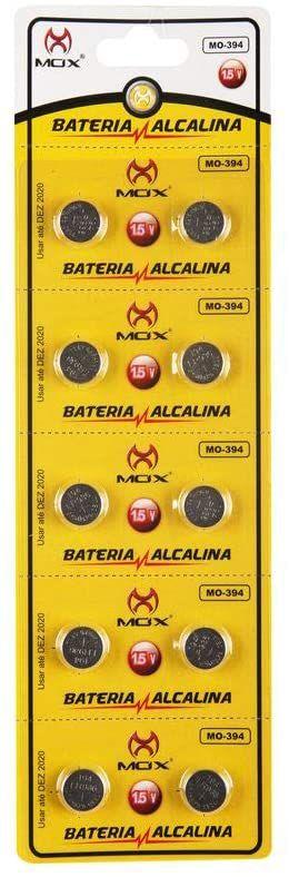 BATERIA BOTAO MOX MO-394 (CARTELA C/ 10PCS)