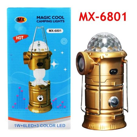 LAMPIAO LED MAGIC COOL CAMPING LIGHTS MX-6801