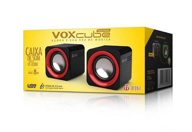 CAIXA DE SOM VOX CLUBE MODELO VC-D300 INFOKIT