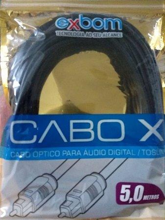 CABO OPTICO DIGITAL EXBOM 5M