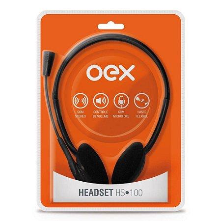 HEADSET OEX HEADSET HS100 2 P2