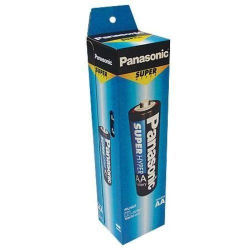 PILHA AA PANASONIC ZINCO 1,5V SUPER HYPER PCT 4X13