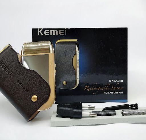 BARBEADOR KEMEI RECHARGEABLE SHAVER KM-5700