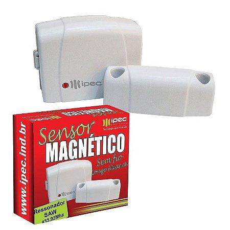SENSOR MAGNÉTICO SEM FIO LONGO ALCANCE IPEC