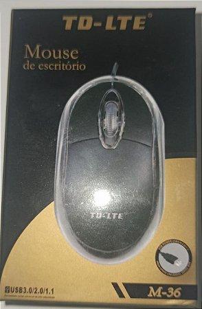 MOUSE OPTICO COM FIO LT-LTE M-36