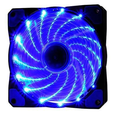 COOLER FAN 120MM 16 LEDS AZUL 1200RPM OEX GAME F20