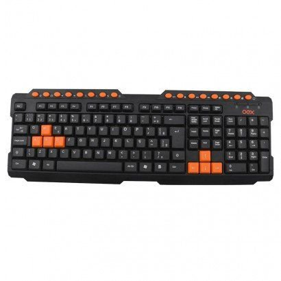 TECLADO ACTION OEX GAME TC200PRLR